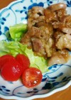 柿の甘みで生姜焼き(減塩レシピ)