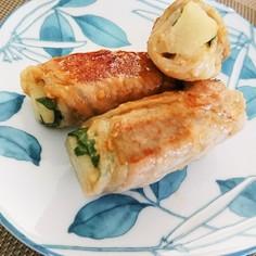 長芋の豚肉ロール