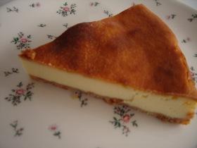 糖分油分控えめのヘルシー☆チーズケーキ
