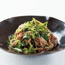 牛肉とクレソンの香りサラダ