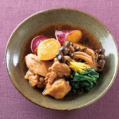 鶏肉とさつまいものすき煮