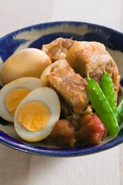 豚バラ肉の梅煮の写真