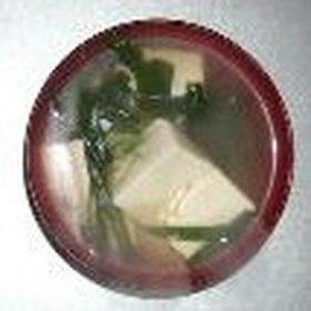 ニラ&豆腐の鶏がら&醤油スープ