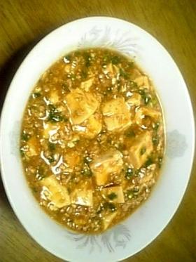 ピリ辛簡単!麻婆豆腐