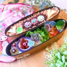 ブライス♫秋鮭弁当♪ ささみチキン