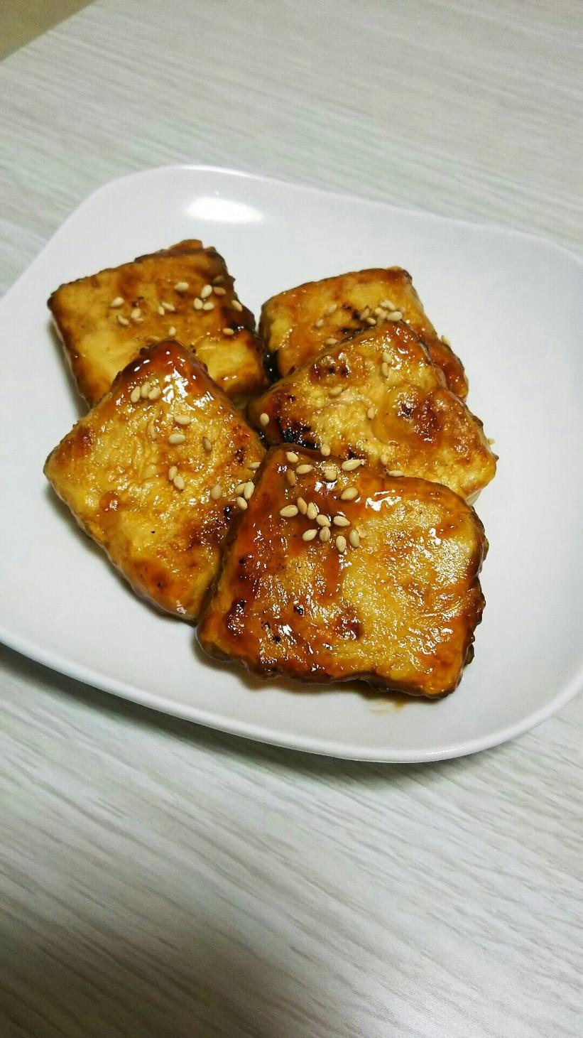 10分で簡単☆甘辛揚げ出し豆腐