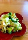 シャキシャキ コールスローサラダ