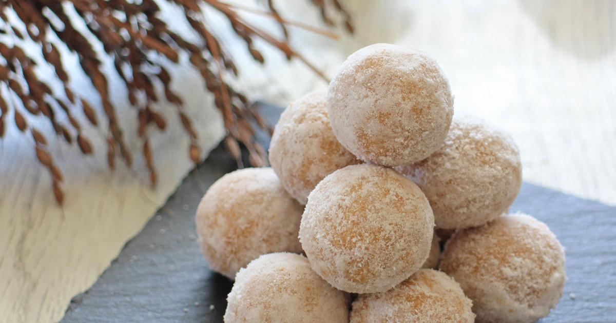 スノー ボール クッキー 卵は使わず材料はたったの3つ!ほろほろ食感が楽しい「スノーボールク...