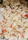セコガニの炊き込みご飯