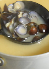 美味しいしじみのお味噌汁