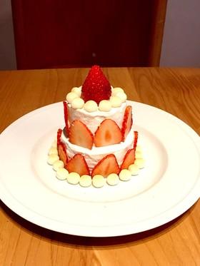 1歳のバースデーケーキ☆