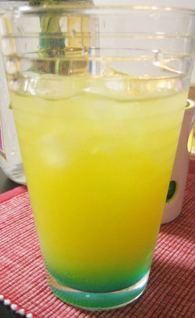 オレンジ&ウォッカのオリジナルカクテル