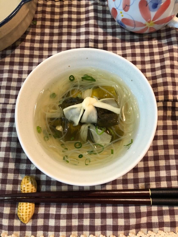 母から引き継いだ☆高菜巻きスープ