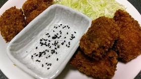 ごま塩で揚物は食べるフライとんかつ天ぷら