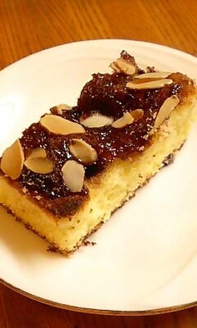 スクエア アーモンドケーキ