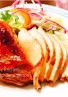 皮まで美味しい◎柔らか鶏胸肉チャーシュー