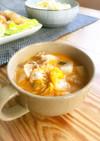 豚キムチ味噌煮込みスープ