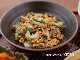 【農家のレシピ】青しそいか納豆