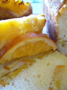 しっとり♪オレンジ パウンド ケーキ