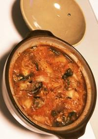キムチかき鍋