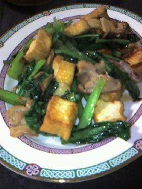 ✿タイ屋台風ฺ✿ฺ豆腐野菜炒め
