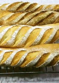 【HB】簡単カリカリ 本格的フランスパン
