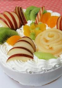 フルーツデコレーションケーキpart1