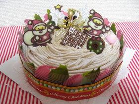 クリスマスケーキのデコに!!チョコの羽