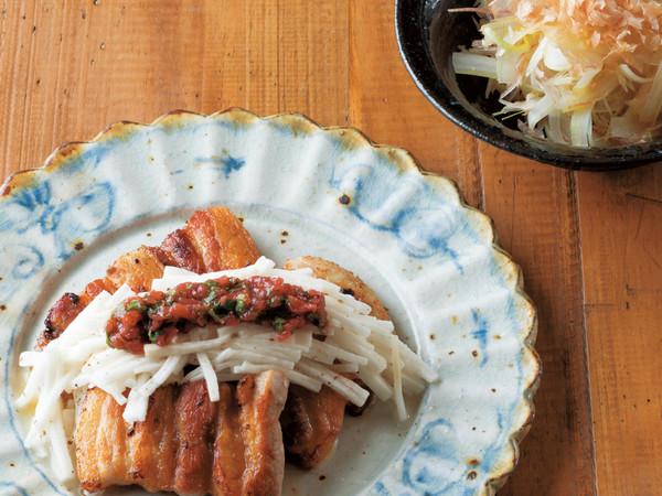 豚肉のカリカリ焼き