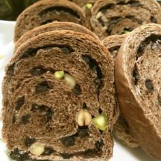 パウンド型で焼くチョコナッツパン