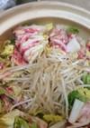もやしで簡単カサ増し♡豚バラ白菜鍋