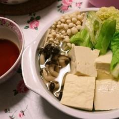 時短簡単あったか鍋?湯豆腐?
