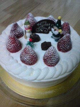 クリスマスデコケーキ*2007