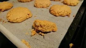 さくさく卵なしピーナッツバタークッキー☆