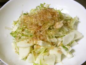 山芋とささみの梅肉サラダ☆