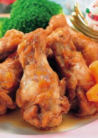 チキンのマーマレード煮