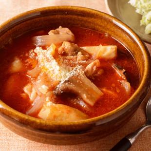 トマトチキン煮込みスープ