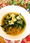 白菜キムチで薬膳風キムチスープ