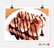 れぽ8♡激甘スモアトースト♡人気の写真