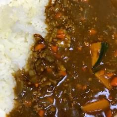 簡単美味しい油不要な南瓜キーマカレー