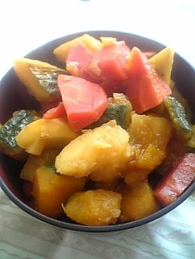 野菜たっぷりこってり煮