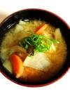 3種の野菜だけ⭐️けんちん風お味噌汁