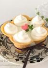 ふわふわ♡ソフトクリームレアチーズケーキ