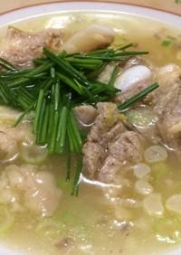 韓国風♪牛骨スープ