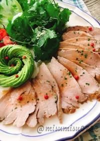 炊飯器で簡単☆豚ヒレコンフィ