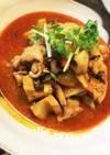 根菜と鶏肉の韓国風煮物☆