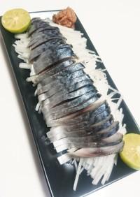 *豪華*しめ鯖の食べ方〜酒の肴に一品に〜