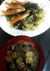 生海苔の冷やし中華つけ麺