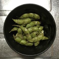 枝豆のアンチョビ炒め