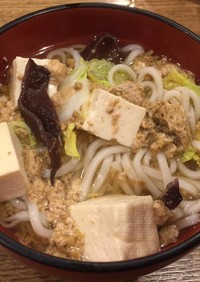 つがにそうめん汁(高知県旧鏡村の郷土食)